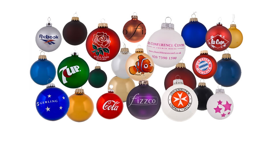 Branded Baubles - Coroporate Baubles